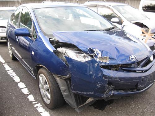 板金・塗装前の事故車
